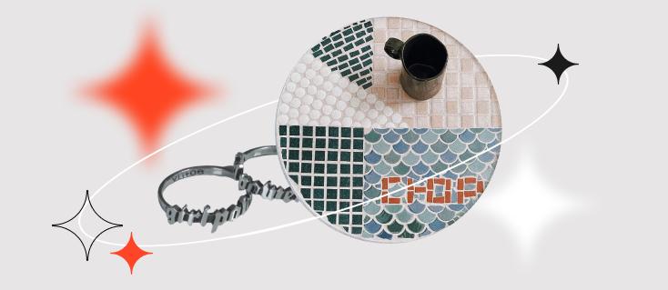 Кольцо «Балдёж» и столик из домино: молодые российские дизайнеры идут на AliExpress